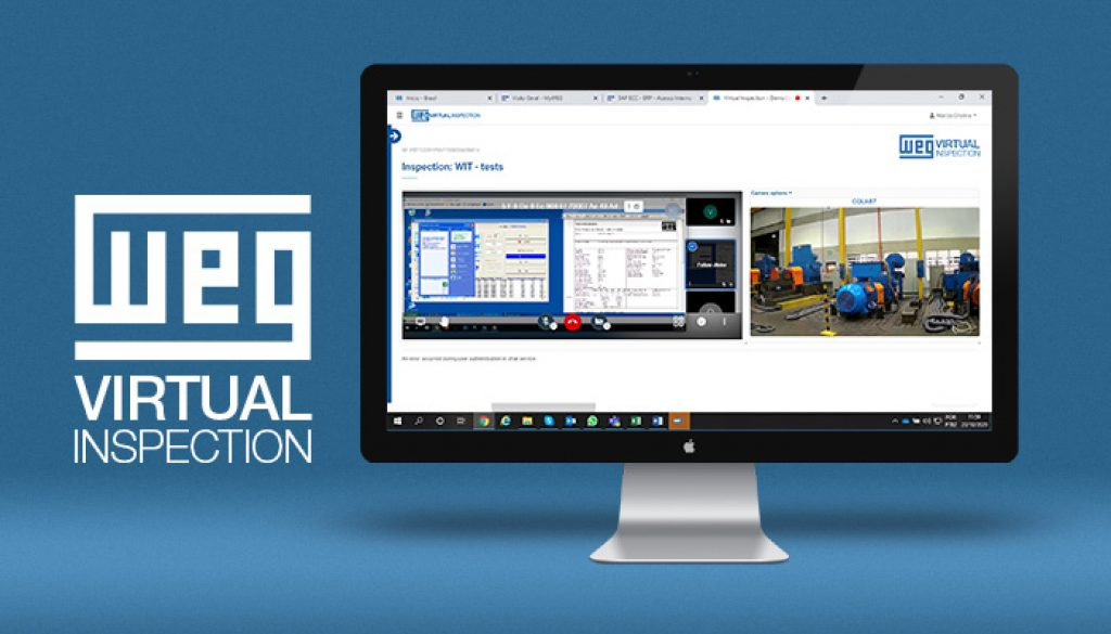 WEG creates virtual motor testing platform