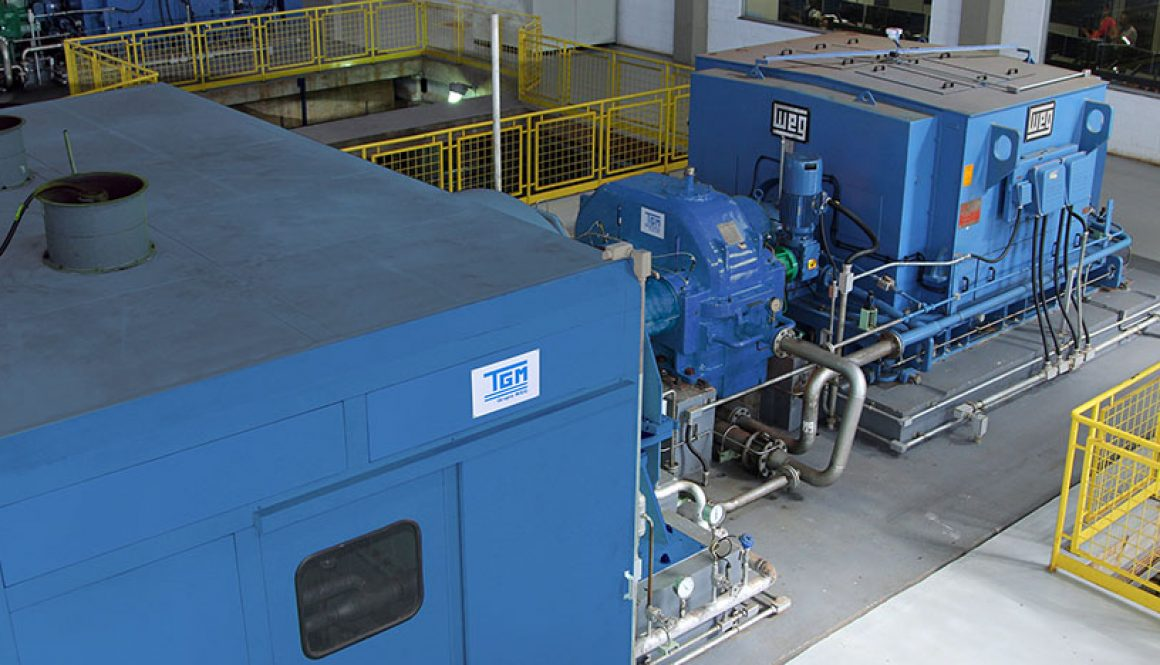WEG equipment doubles thermoelectric power plant capacity in a food production company