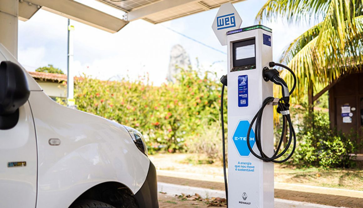 WEG and Renault lead an electric mobility project in Fernando de Noronha