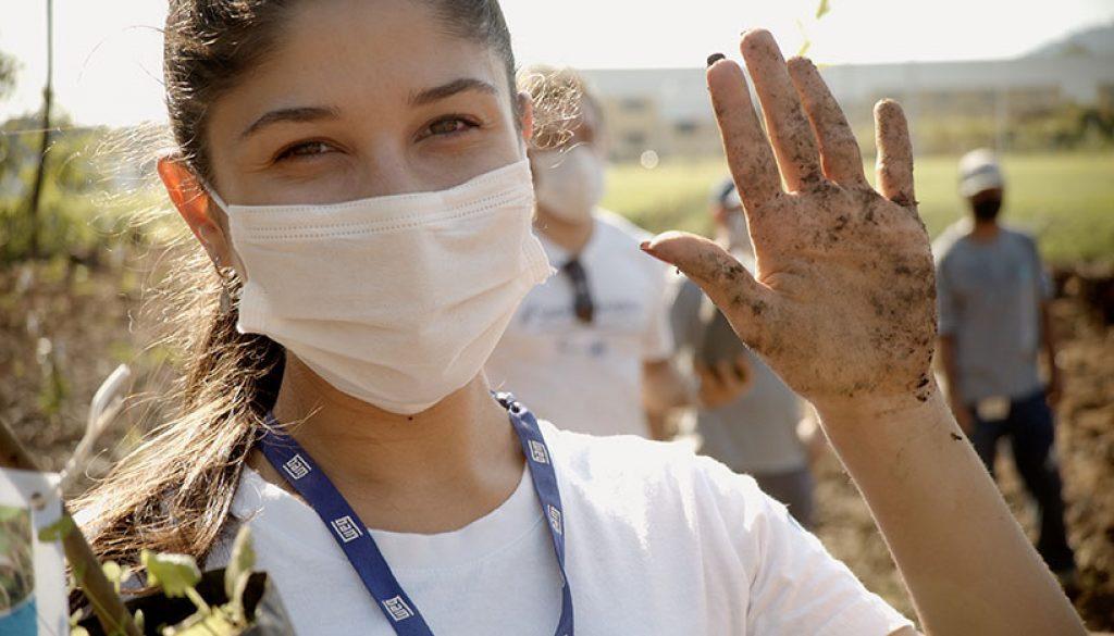 WEG promotes tree planting to preserve the environment