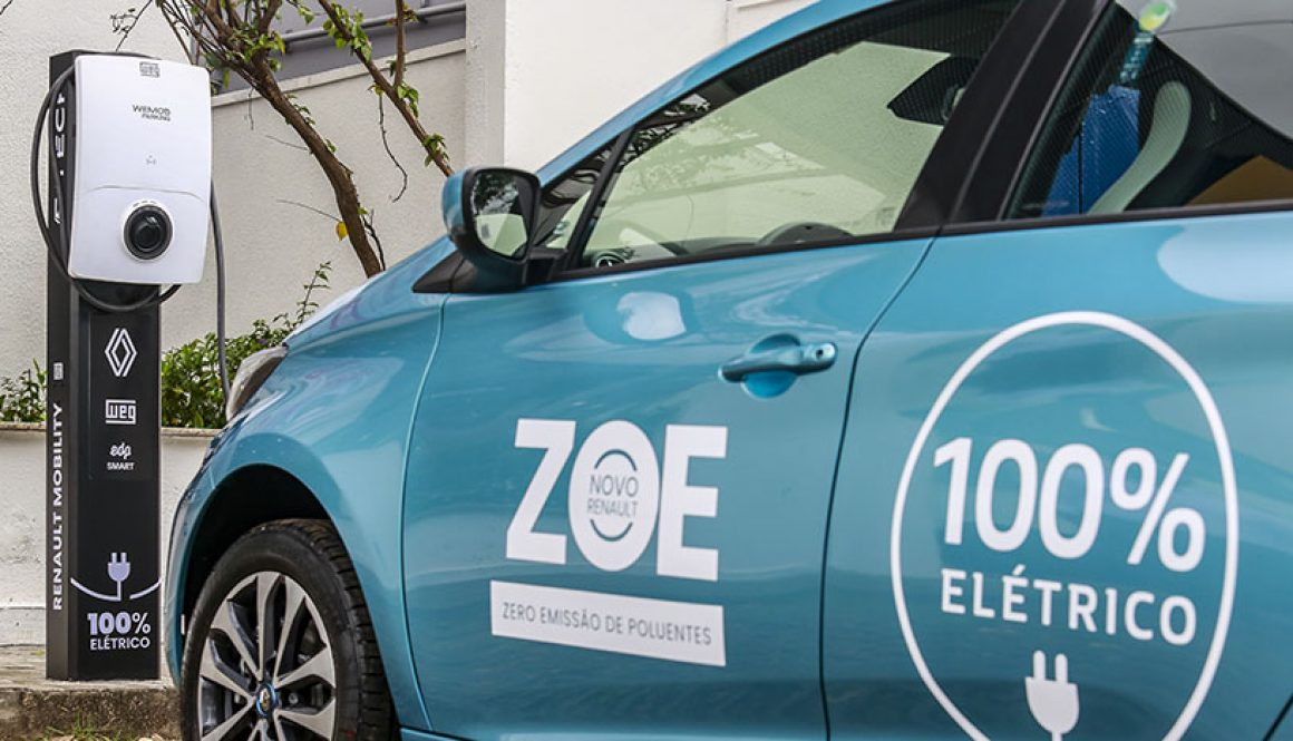 WEG and EDP build partnership with Renault to be official suppliers of electric vehicle charging stations for the new Zoe