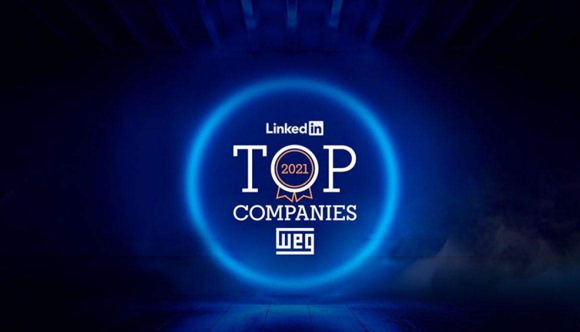 WEG on the 2021 LinkedIn Top Companies list