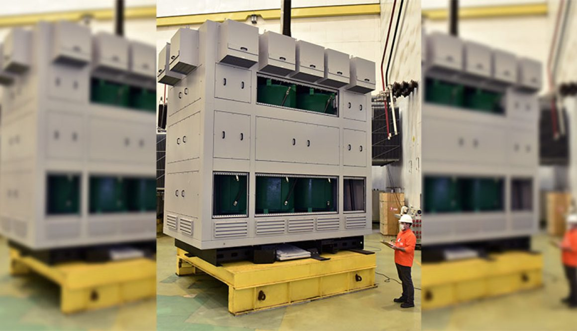Dry transformers allow Electrolux's production capacity expansion