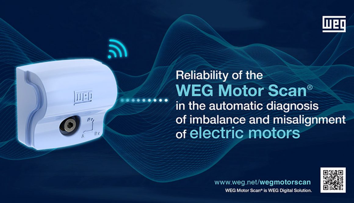 Reliability of the WEG Motor Scan® in the automatic diagnosis of imbalance and misalignment of electric motors