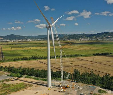 WEG and Engie Brasil Energia complete installation of the first national wind turbine