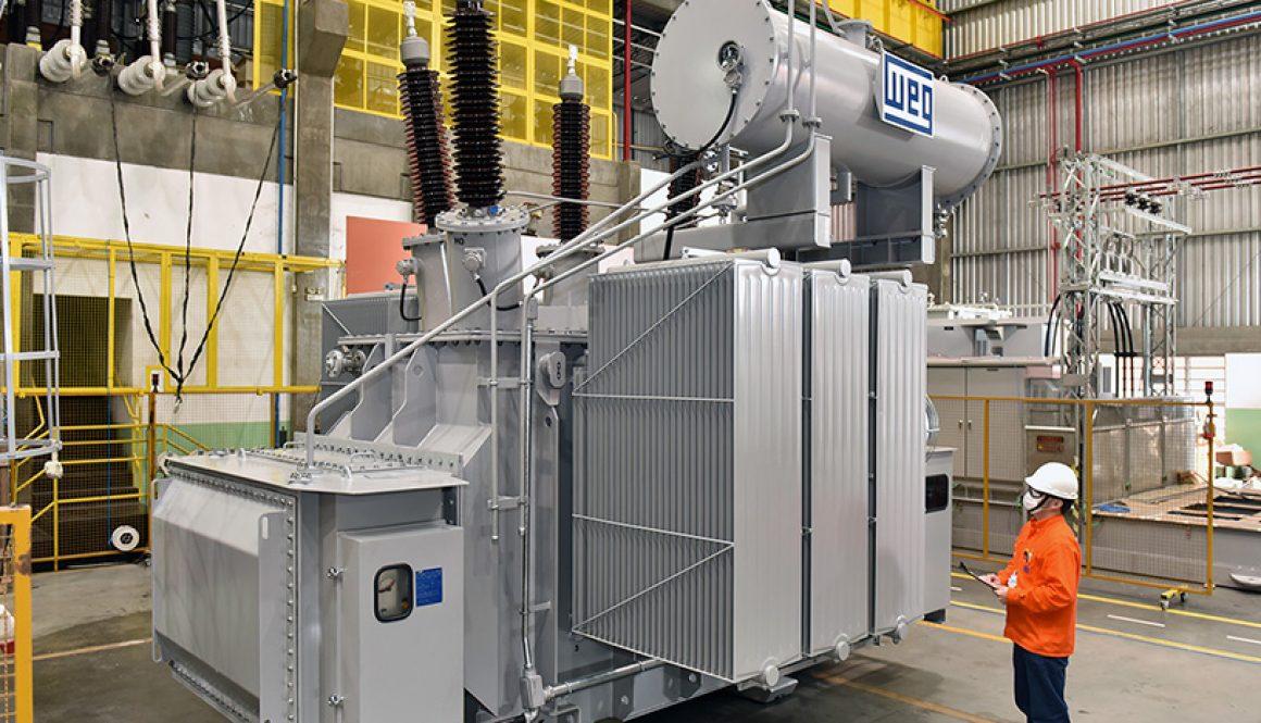WEG supplies vegetable oil transformer for environment protection