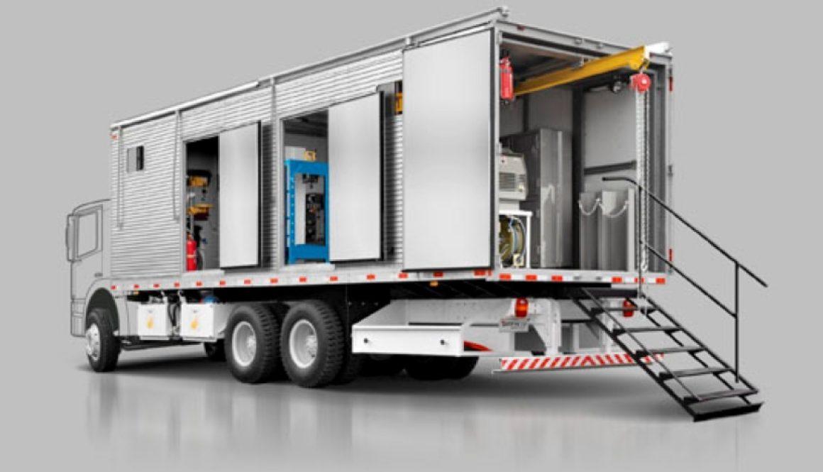 Alternators provide electric power to mobile workshops