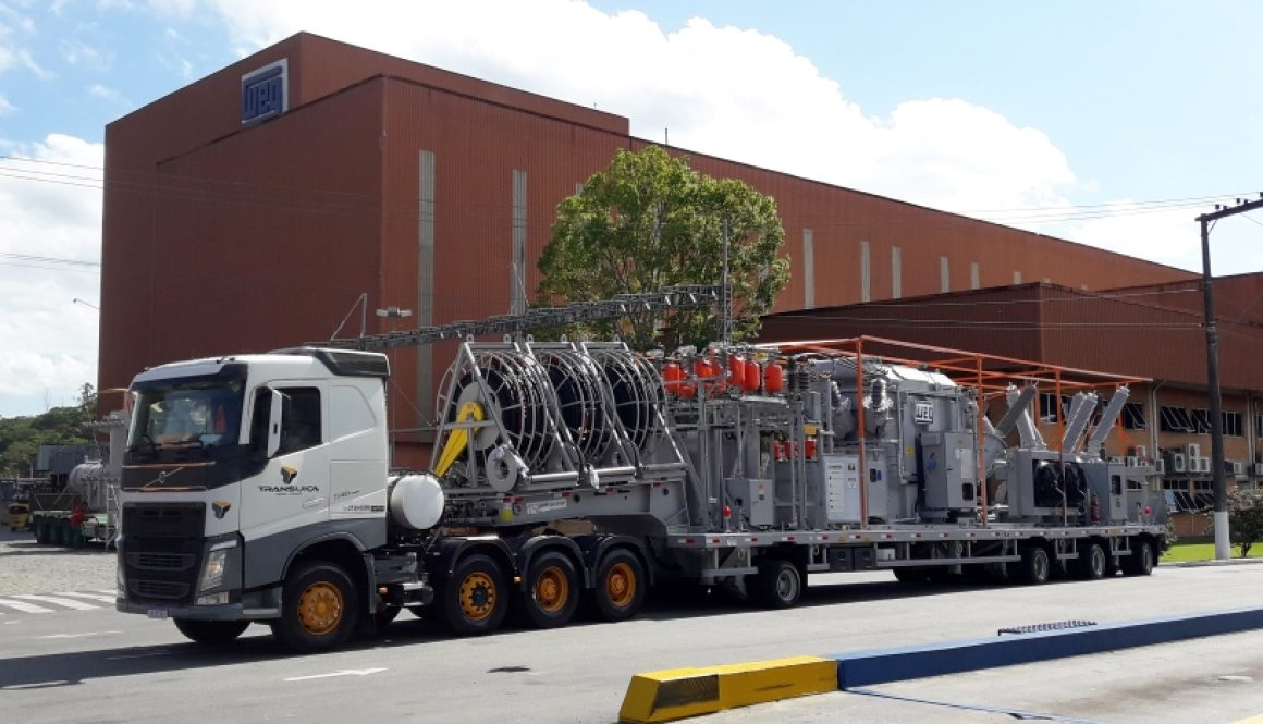 WEG provides four customized Mobile Substations for the Brazilian Electricity Regulatory Agency (ENEL)